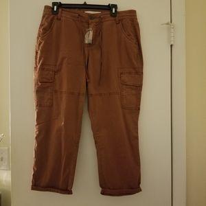 Capris cargo pants